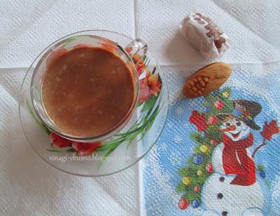 Мляко с шоколад и какао