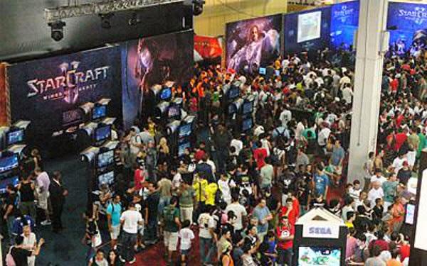 Wiiu Com Game : Brasil game show sp se torna a capital do videogame