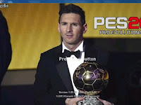 Best Messi Ballon d'or 2015 Start Screen untuk PES 2016