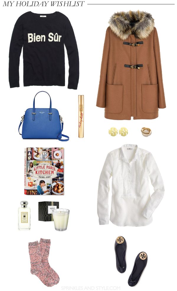Sprinkles and Style || My Christmas Wishlist