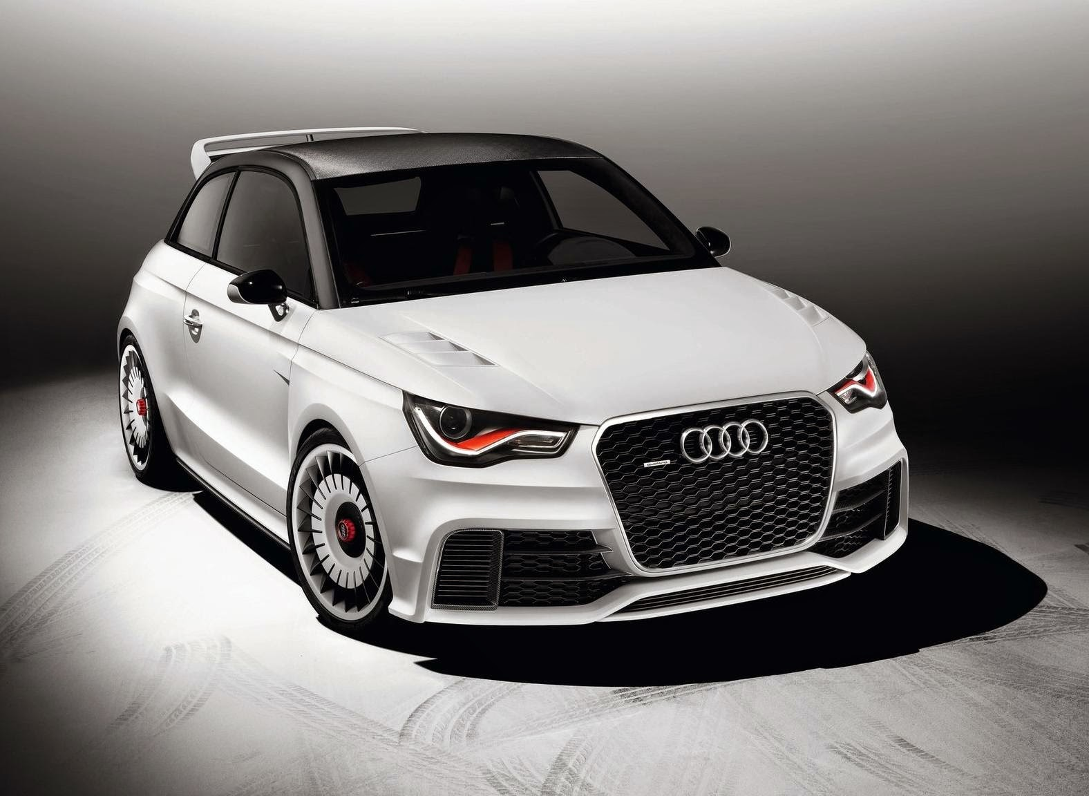 Audi A1 Clubsport Quattro Concept 2011 Widescreen Wallpaper