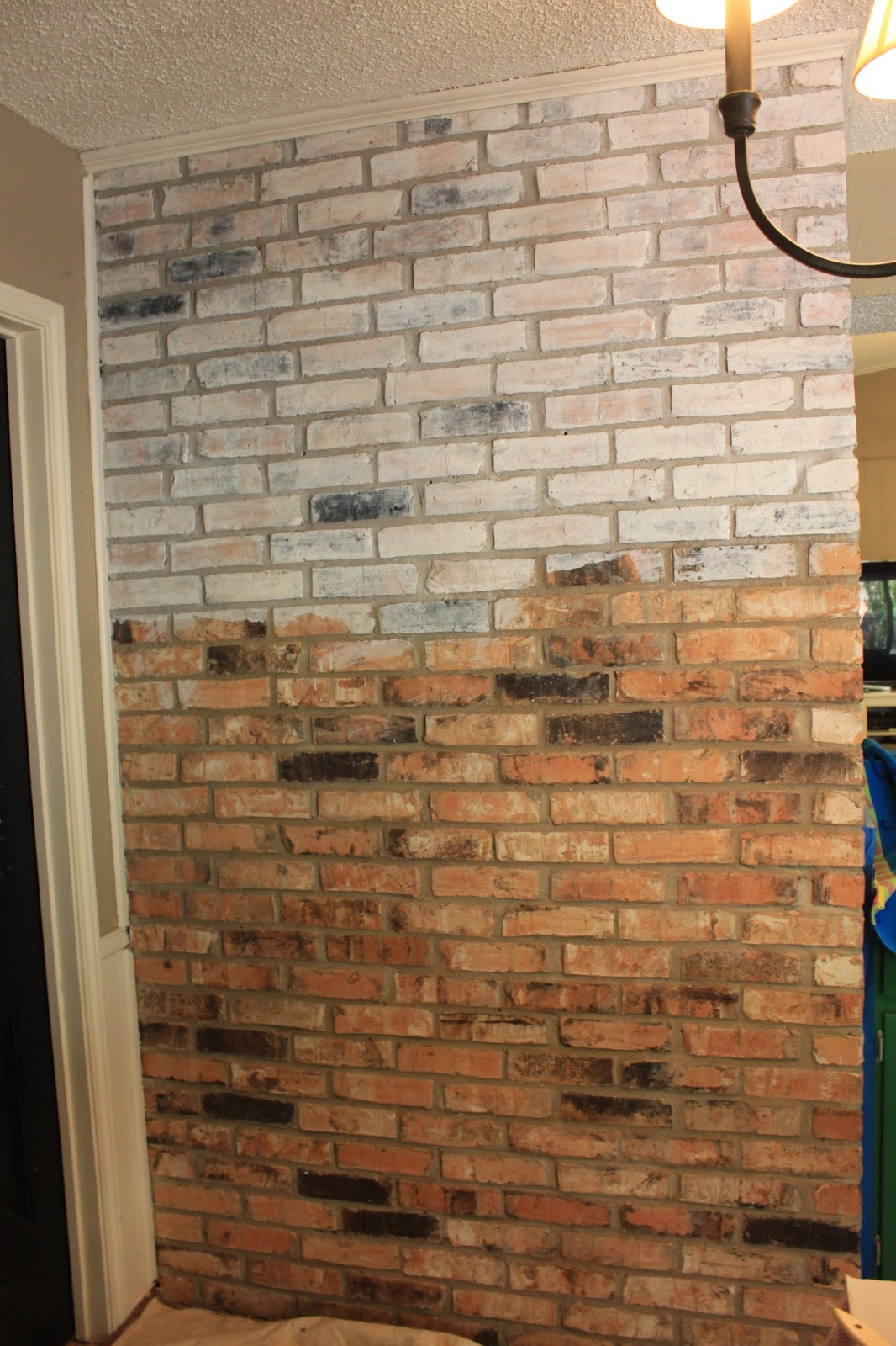 march orchard how to white wash a brick fireplace