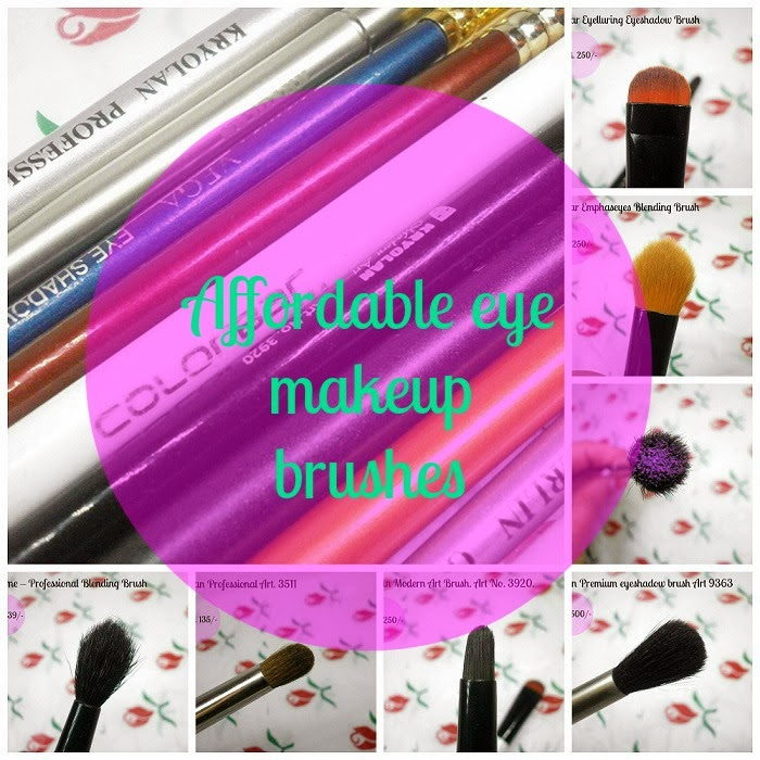 Indian Beauty Maniac Affordable Eye Make Up Brushes That Are Easily