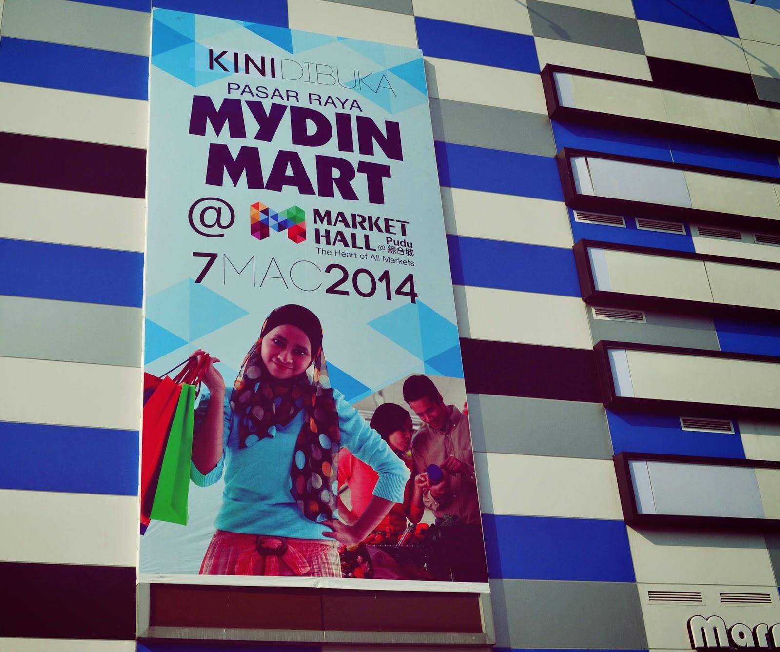 Pembukaan Mydin Mart di Market Hall Pudu Kuala Lumpur