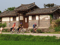 The Beautiful Trip from Seoul to Andong Korea Cycle Tour