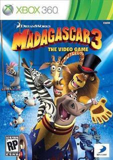 Madagascar 3 The Video Game   XBOX 360