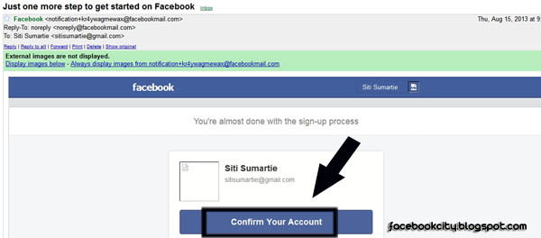 how to facebook create new account