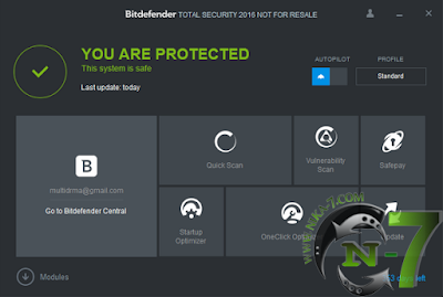 Bitdefender Total Security 2016 Final Gratis