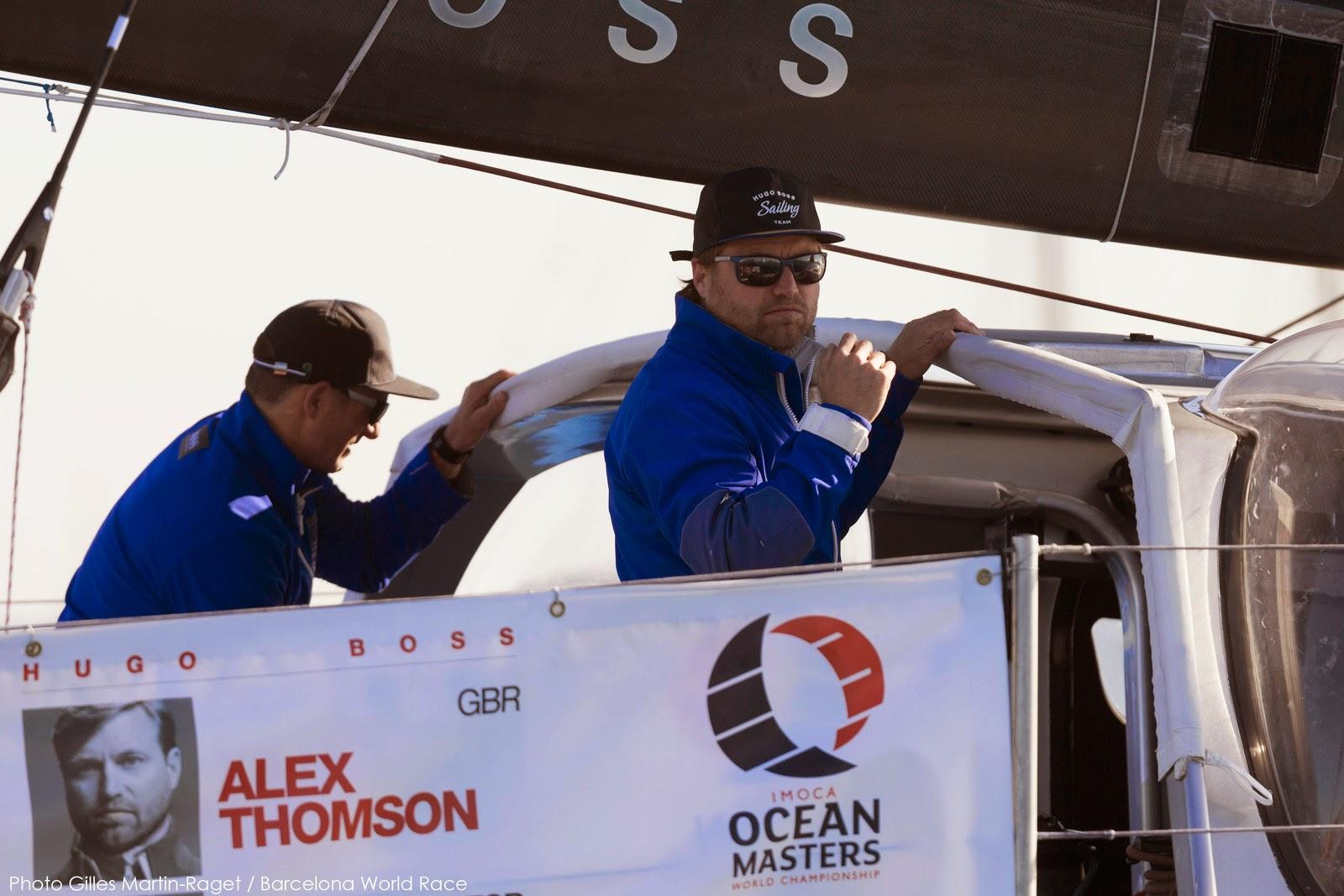 Alex Thomson et Pepe Ribes en tête de la Banrcelona World Race.