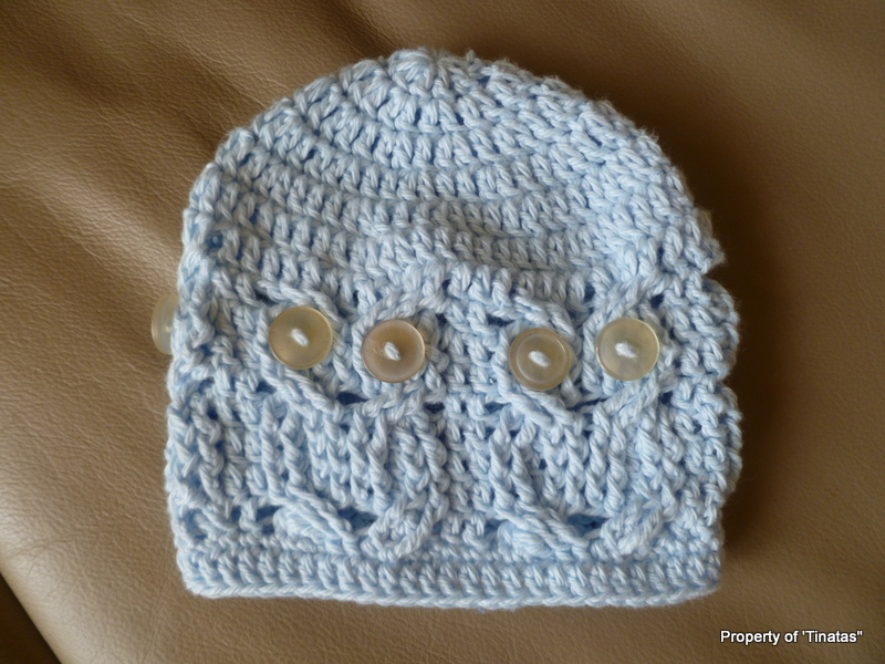 Crochet Pattern For Newborn Owl Hat : Crochet, Bits and Pieces: Its a Hoot Hat!