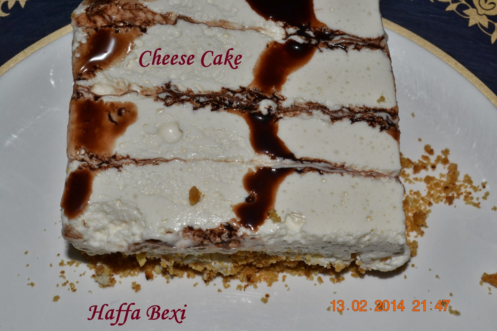 Cake Recipes With Pictures And Procedure : Cream Cheese Cake Haffa s kitchen adventures