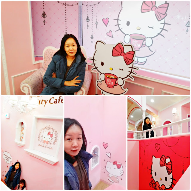 You can find Hello Kitty Cafe   at popular shopping streets at Hongdae, Myeongdong and Sinchon  | www.meheartseoul.blogspot.com