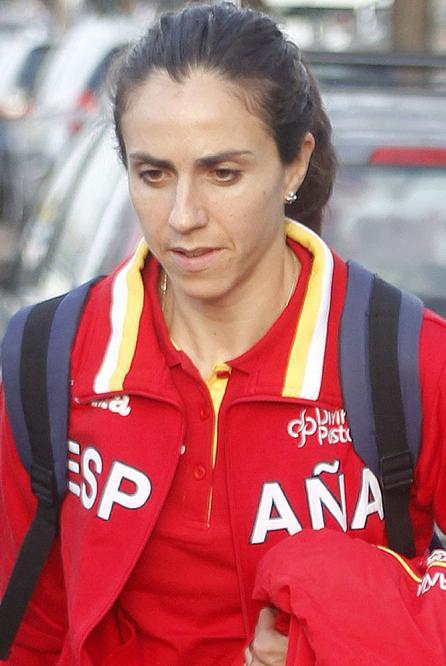 Nuria Fernández Domínguez (4:06.53), mermada físicamente, fue eliminada en su serie de 1.500 metros - Nuria_Fernandez