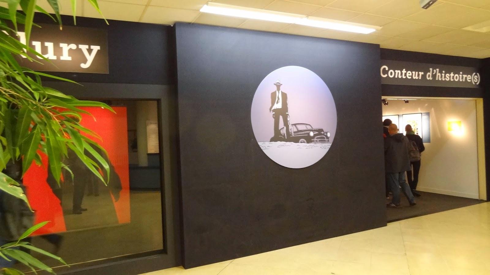 Exposition Fabien Nury, entrée FIBD Angoulême 2015