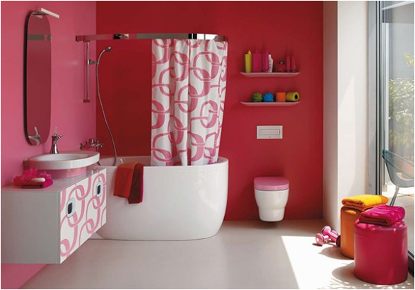Girls bathroom decorating ideas dream house experience for Teen girl bathroom ideas