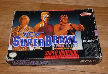 WCW SuperBrawl Wrestling - Nintendo SNES