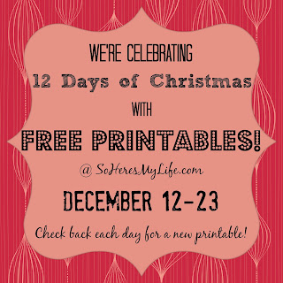 12 Days of Christmas Printables at soheresmy.life