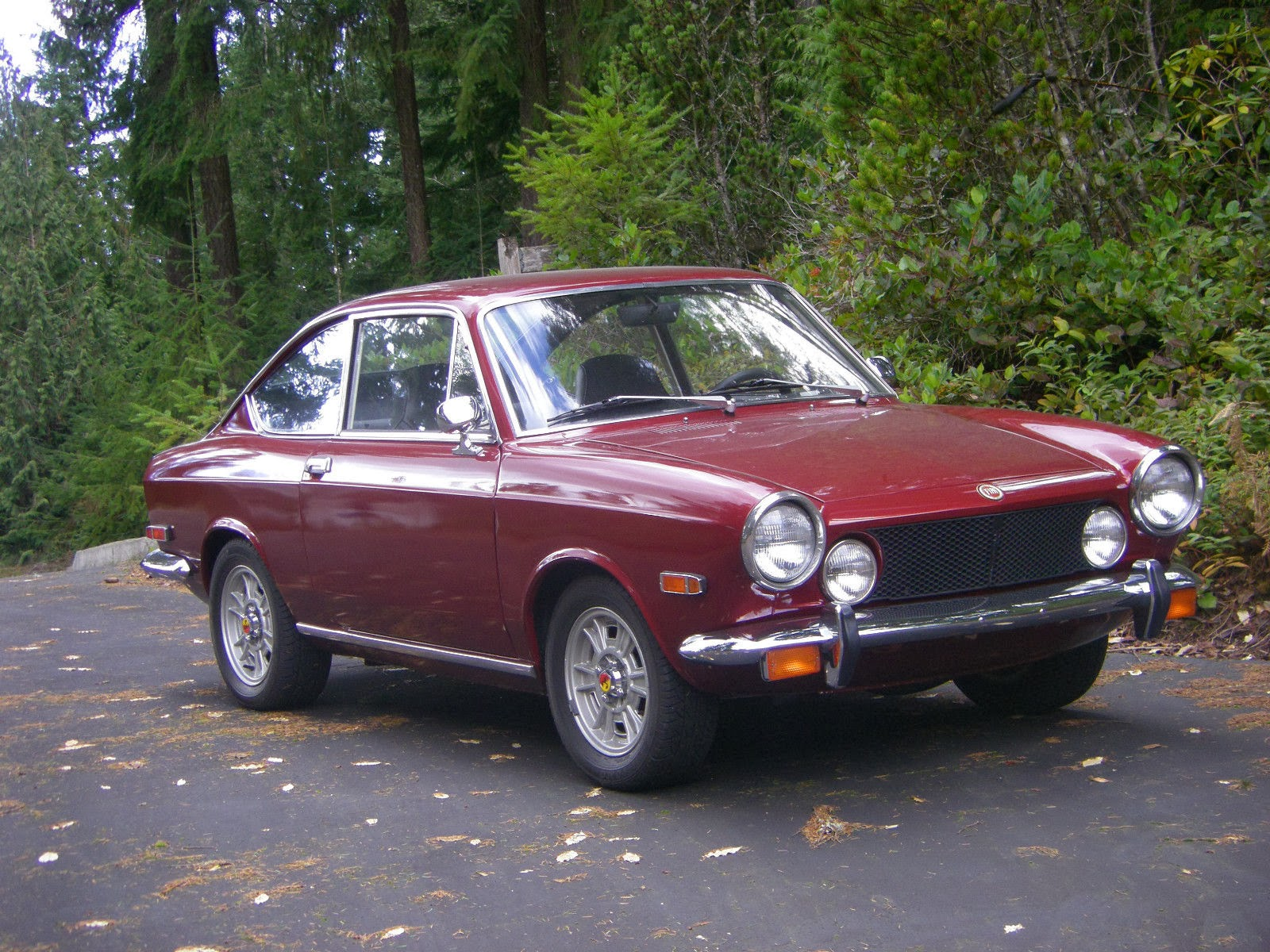 Daily turismo 5k freshen it again tomorrow 1971 fiat 850 sport coupe restomod - Fiat 850 sport coupe for sale ...