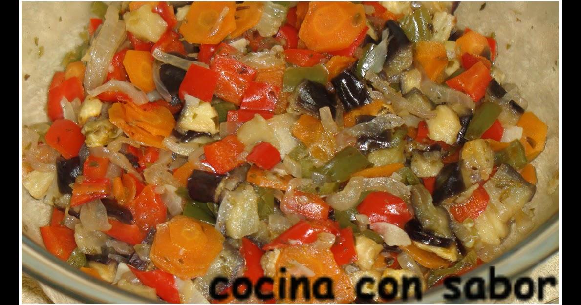 Cocina con sabor verduritas al microondas for Cocina al microondas