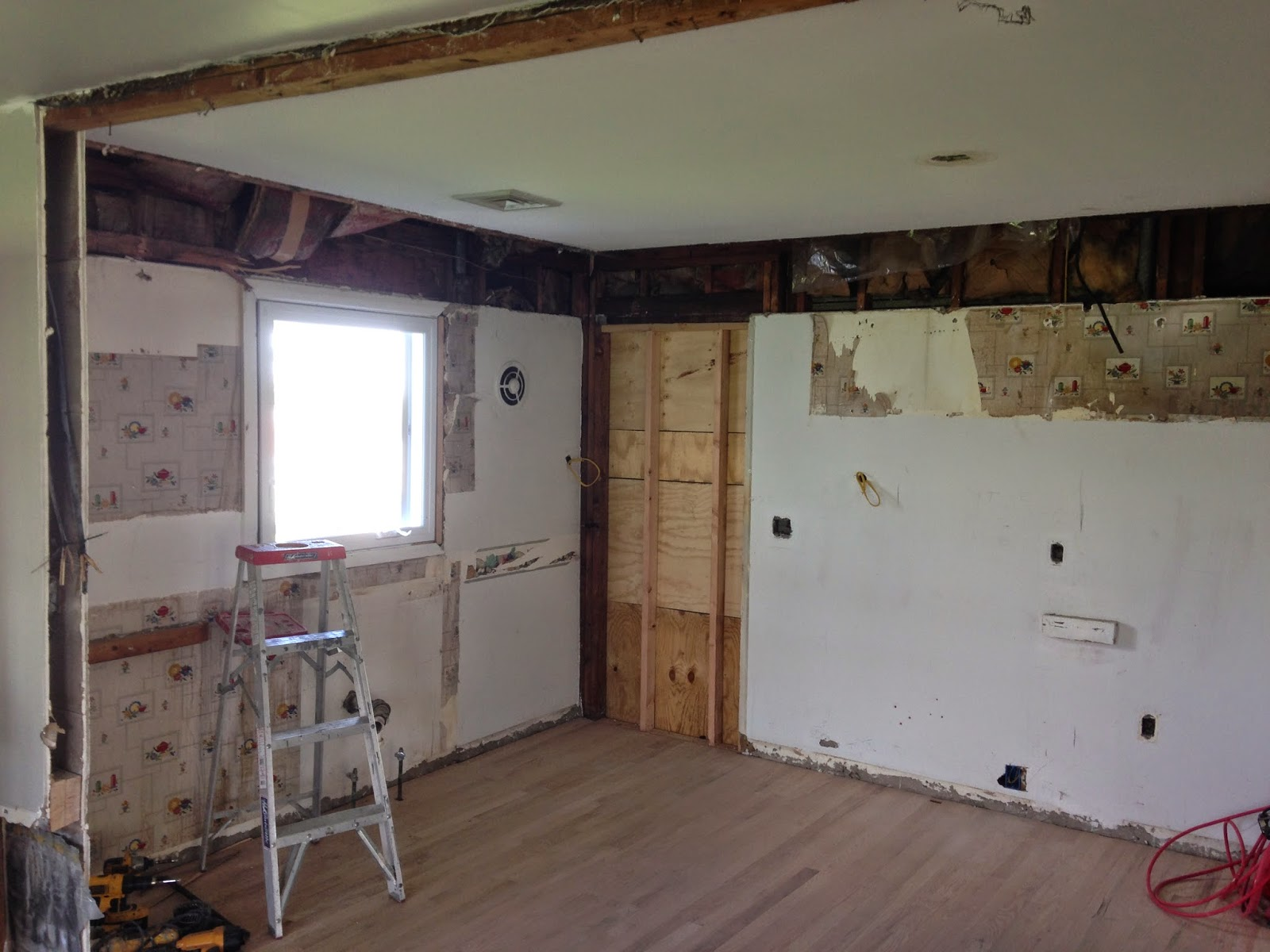 Kitchen cabinets belleville nj - After Removing The Exterior Door And Framing The Space Bobby Installed Decora Cabinets And An Island The Corner Cabinets Where A Door Once Existed House