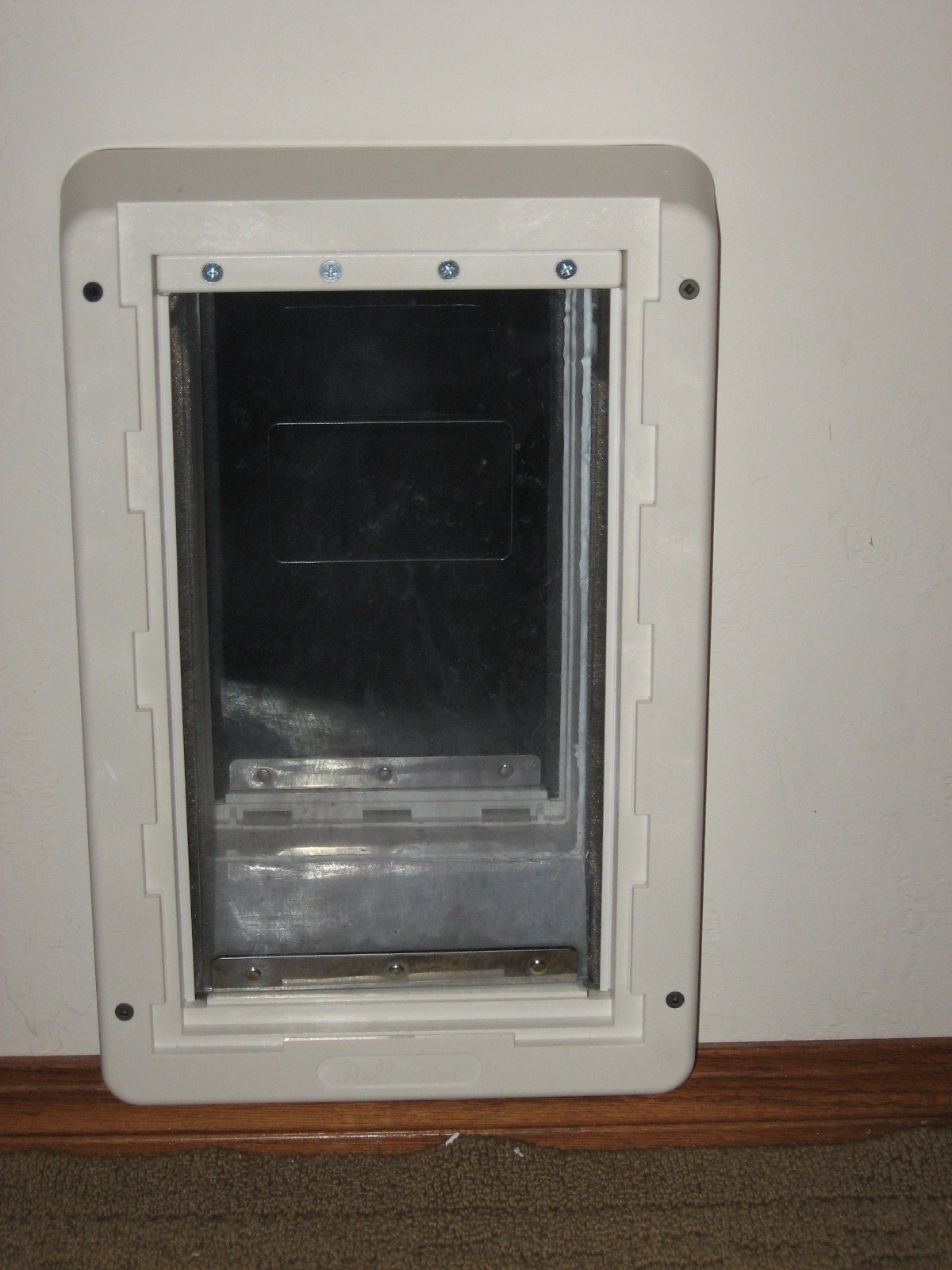 The Naked Dog Review Ruff Weather Dog Door By Ideal Pet Products