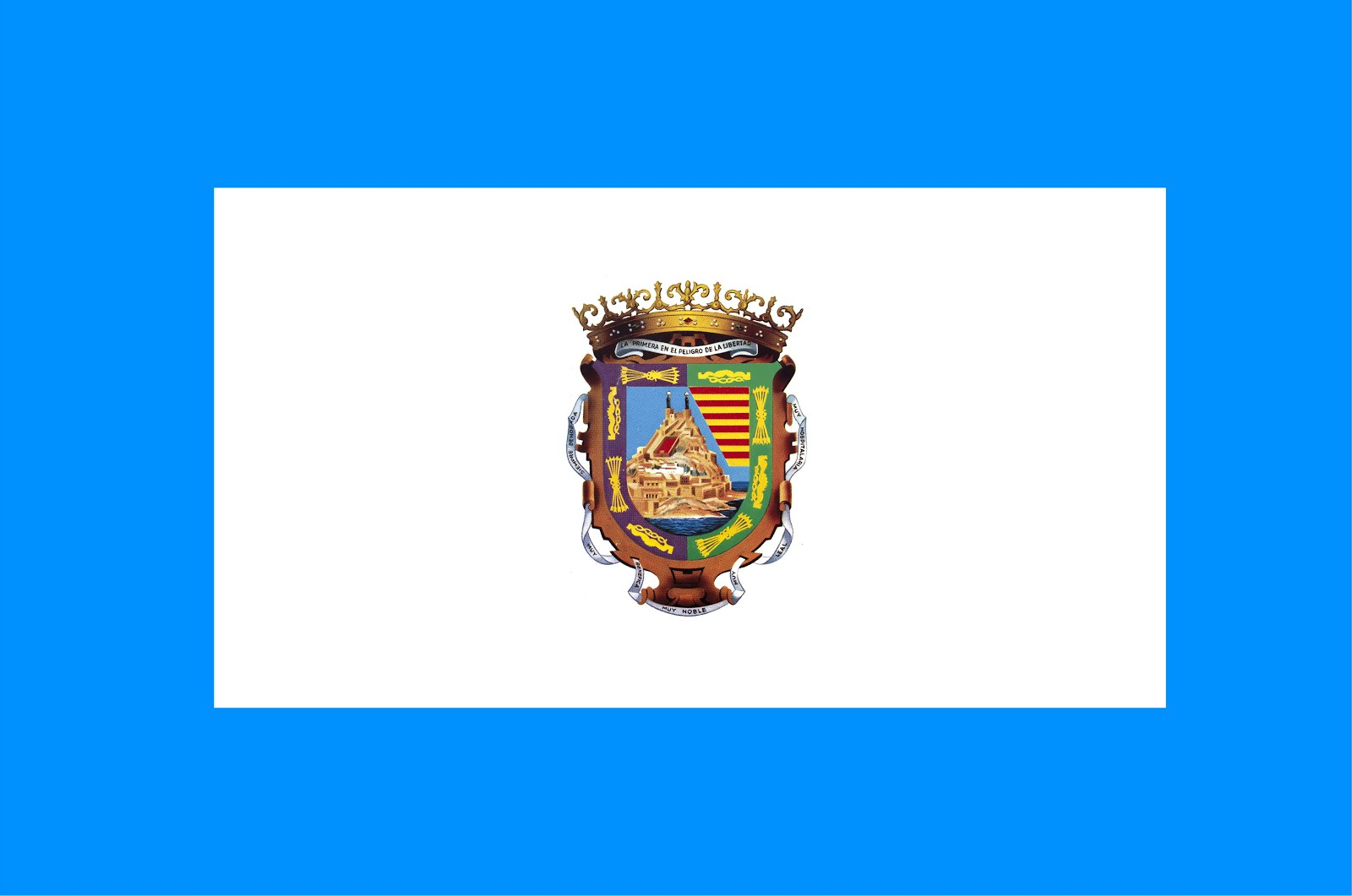 Bandera de Málaga