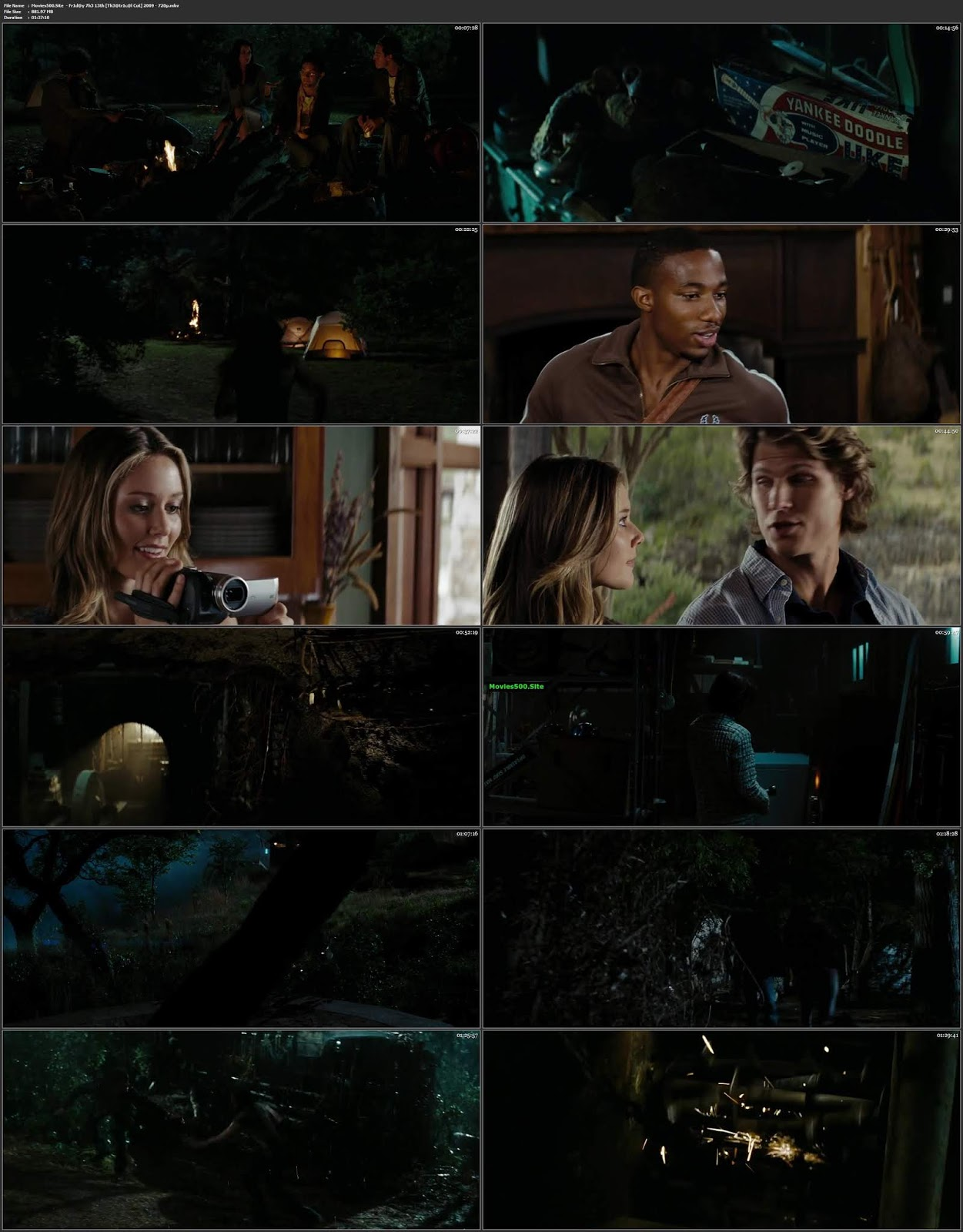 Friday the 13th (2009) Dual Audio Hindi BluRay 720p Esubs
