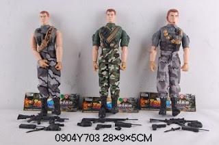 куклы солдаты