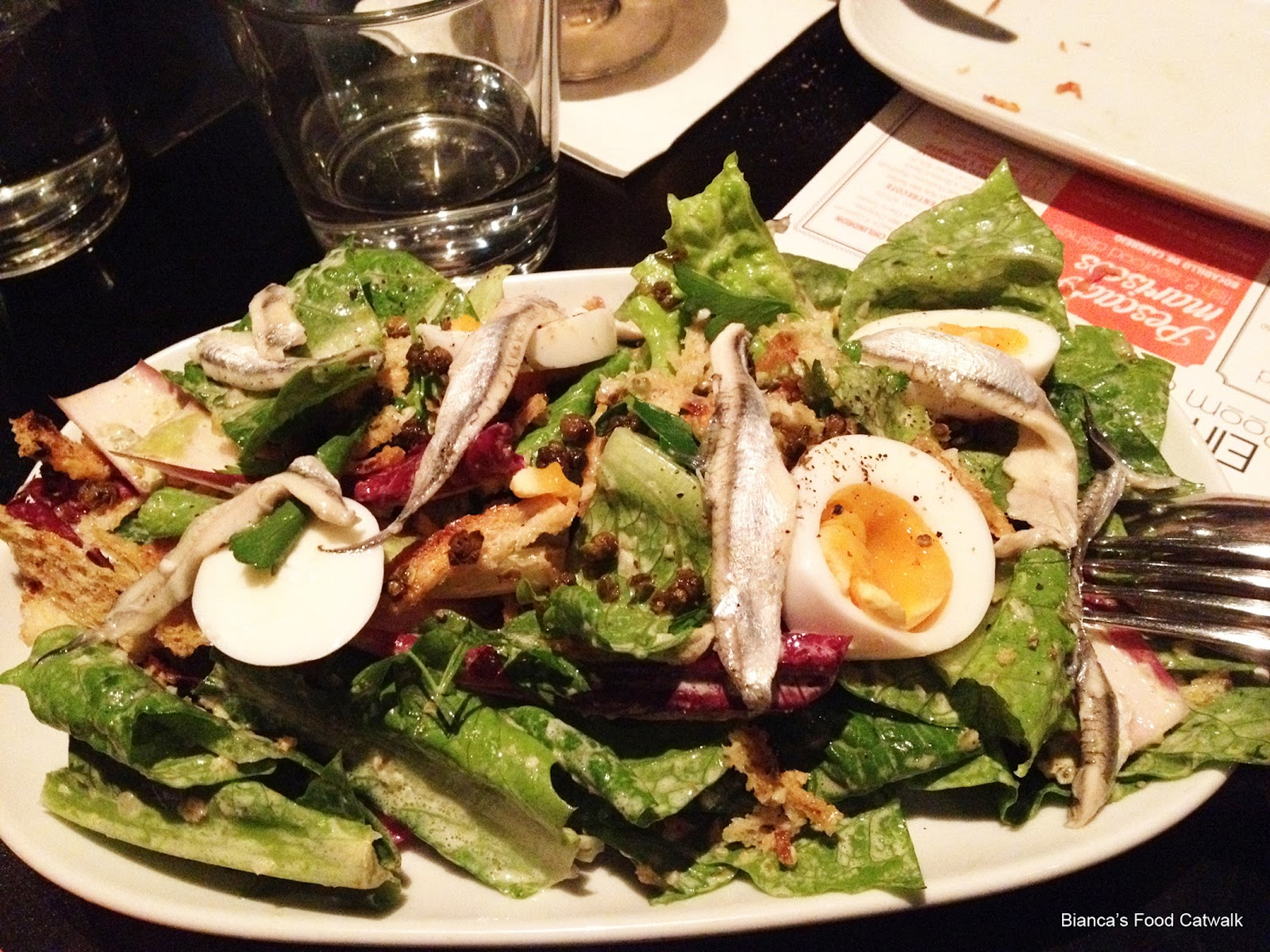 This Is Another Salad We Had And For The Life Of Me I Cant Remember What It Was Isnt On Menu Anymore
