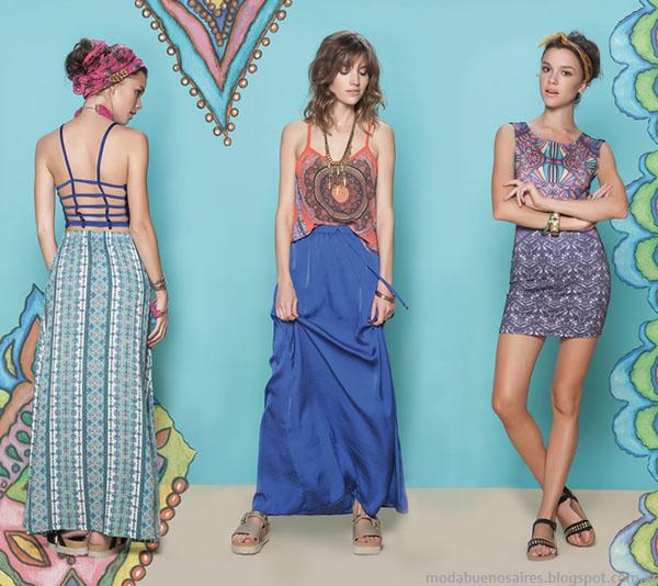 Rimmel primavera verano 2015 faldas de moda 2015.