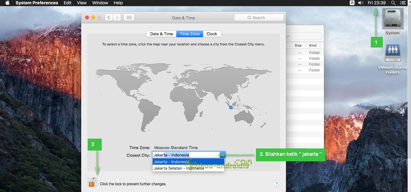 cara install mac os di vmware