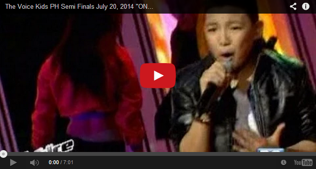 Watch Juan Karlos, Darren and Tonton Sings 'One Way Or Another' on The Voice Kids PH Live Semi-Finals