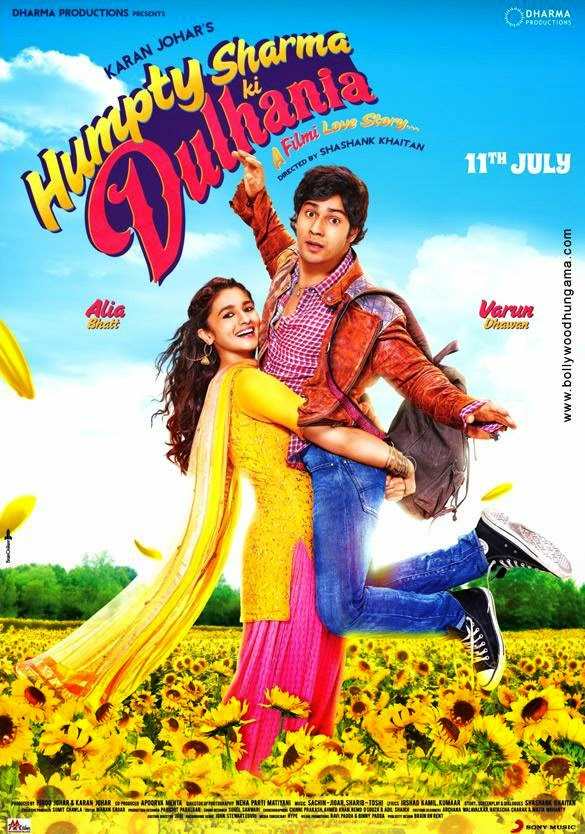 Humpty Sharma Ki Dulhania 2014 DVDRip 700mb MP3 ESub