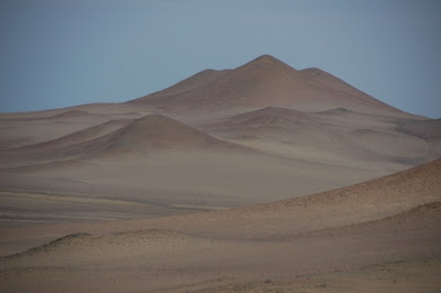 In the desert, Peru