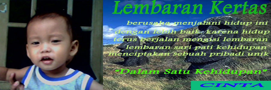 lembaran kertas