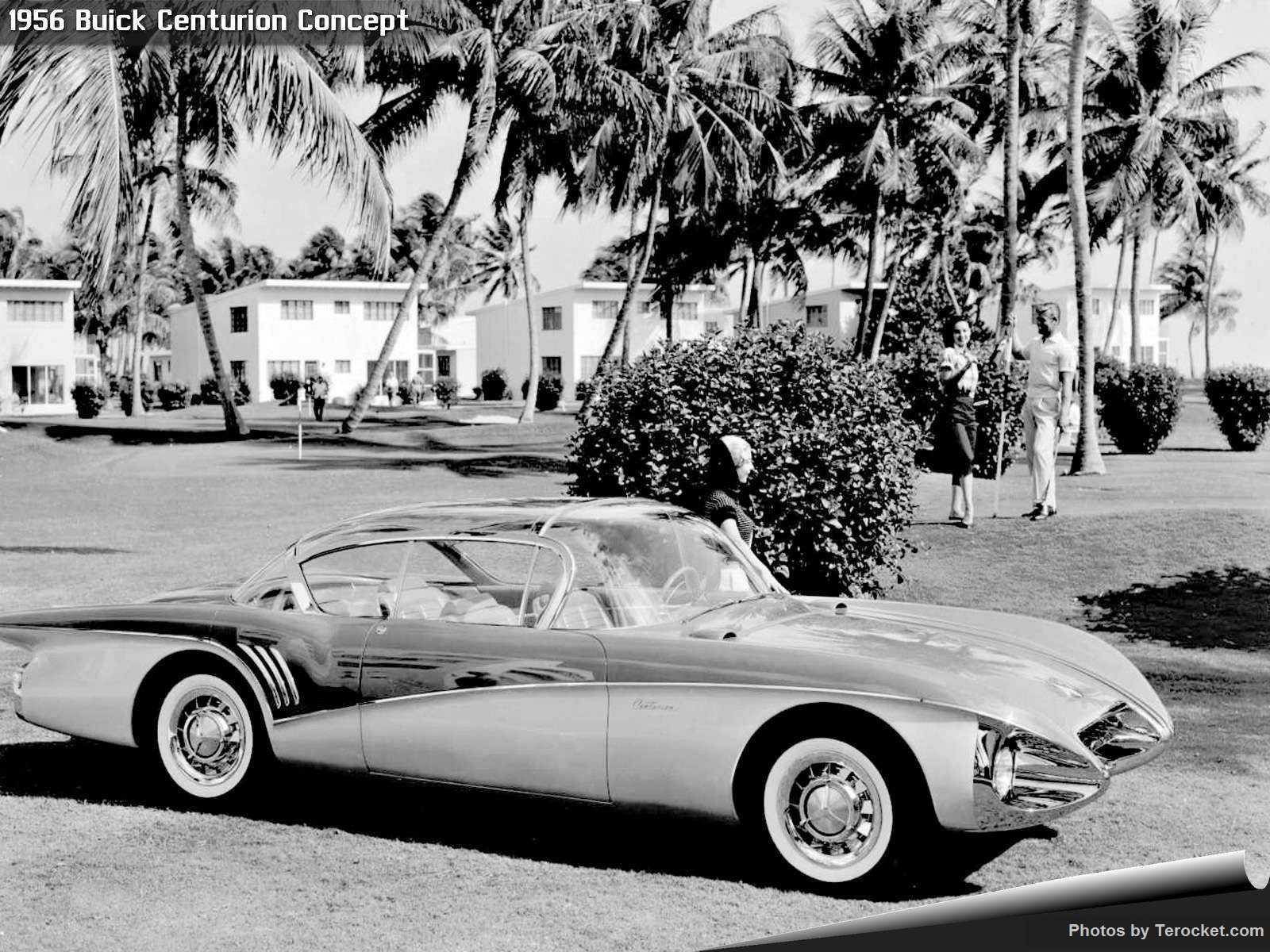 Hình ảnh xe ô tô Buick Centurion Concept 1956 & nội ngoại thất