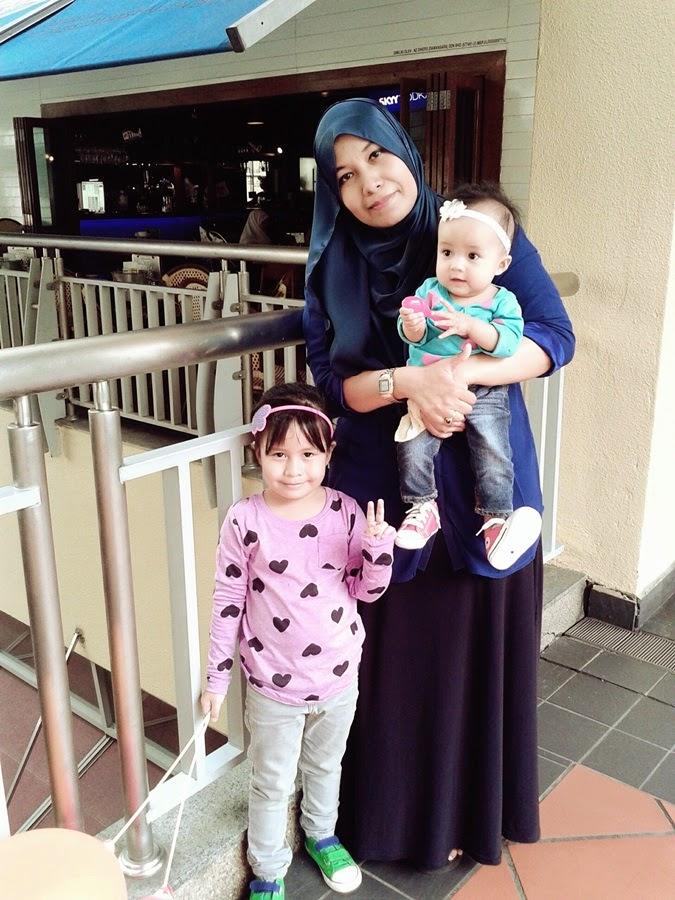 Mak budak ada anak dara dua orang