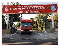 İzmir AKS 110 ve İtfaiye