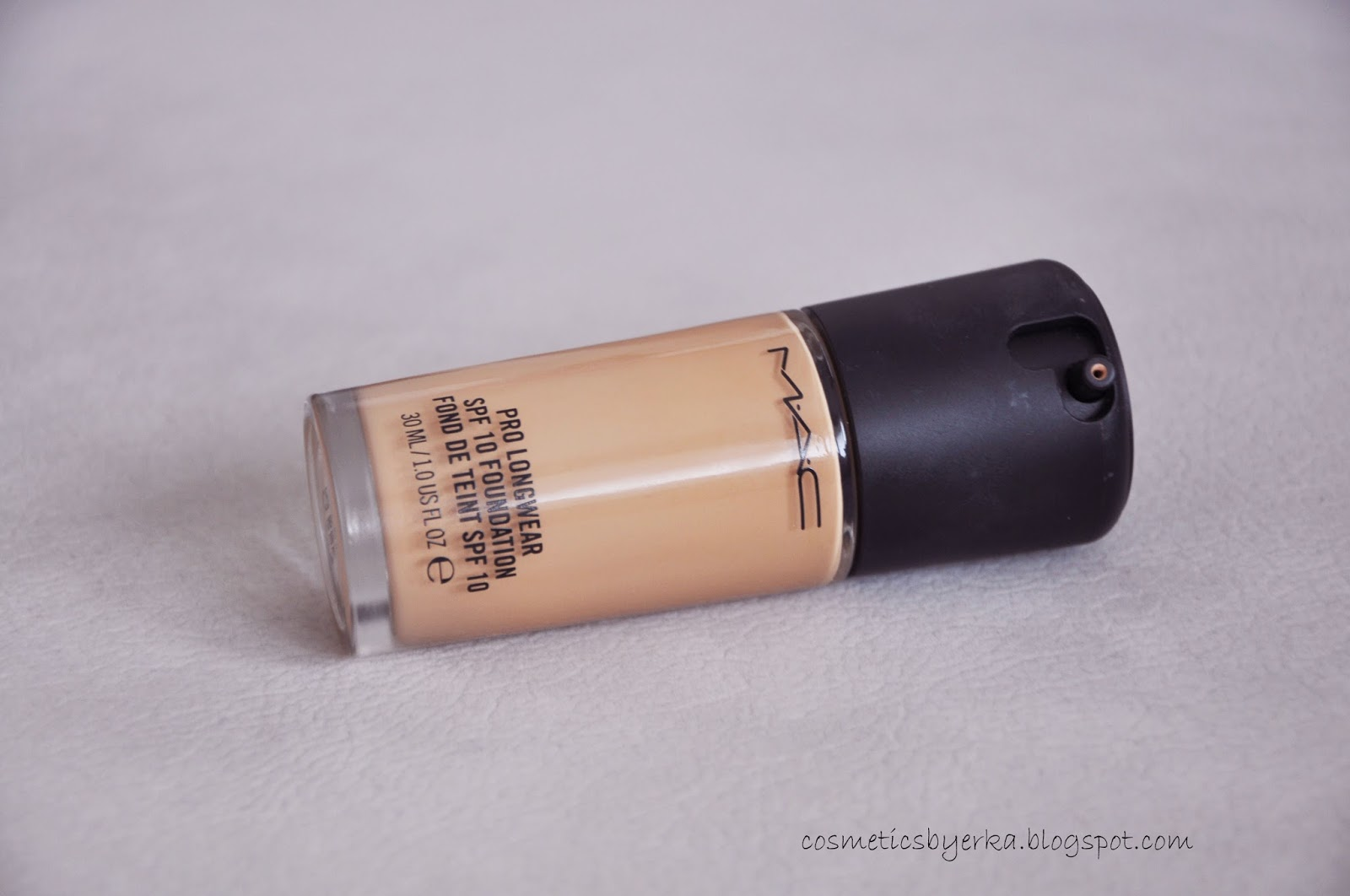 M.A.C Pro Longwear Foundation review