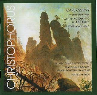 Carl Czerny.: Piano Concerto, Op. 153 / Symphony No. 2