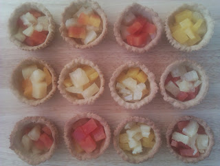 Tropical Rum Fruit Melba cases