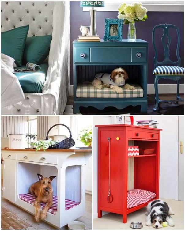I d e a diy haz una original cama para mascotas - Muebles para mascotas ...