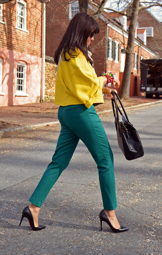 How to color block bright colors