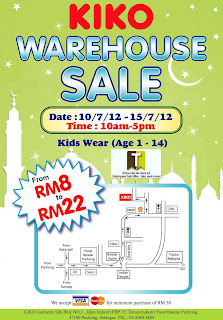 KIKO Warehouse Sale 2012