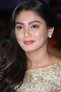 Actress Sana Latest Pictures in Long Dress at Dikkulu Chudaku Ramayya Audio Launch 009
