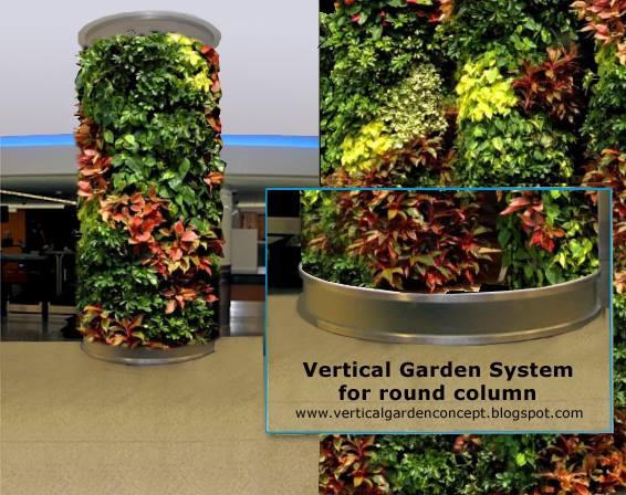 World Class Green Wall Vertical Garden By Technic Garden