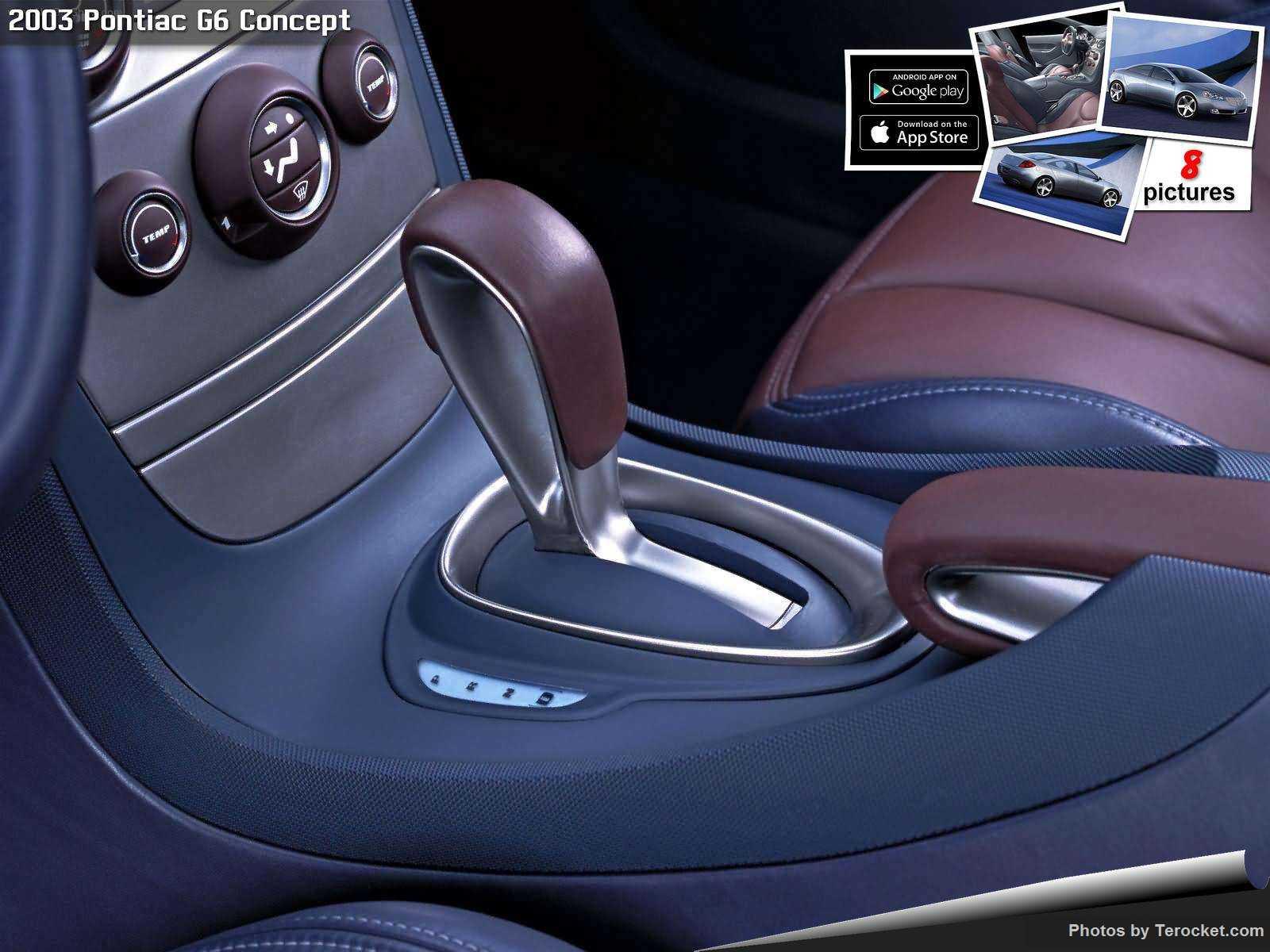 Hình ảnh xe ô tô Pontiac G6 Concept 2003 & nội ngoại thất