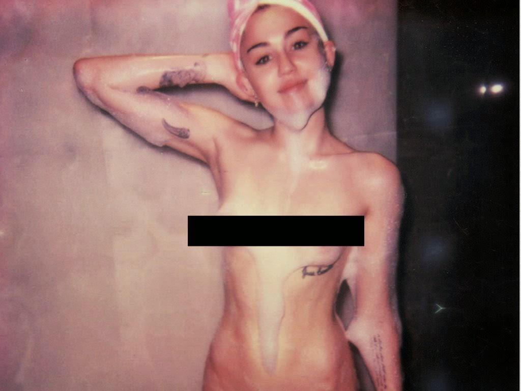 Miley Cyrus tampil bogel untuk majalah 'V'!, info, terkini, hiburan, Hollywood celebrities, Miley Cyrus bogel,