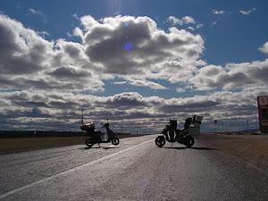 Сказ о том, как мы на скутерах к Тихому океану ездили