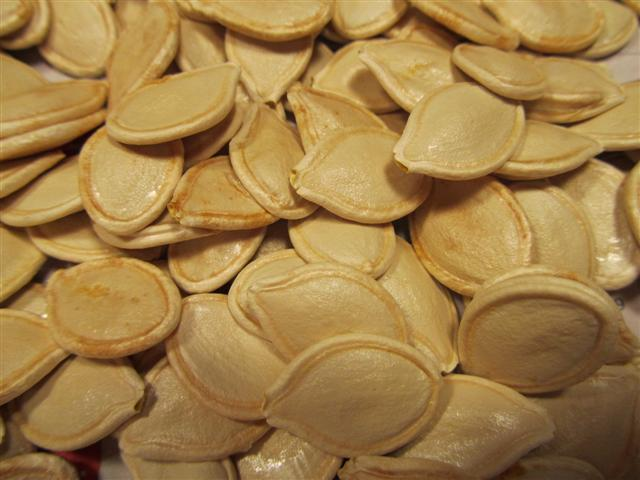 Coucoucanada graines de citrouilles au four - Graines de potimarron grillees a la poele ...